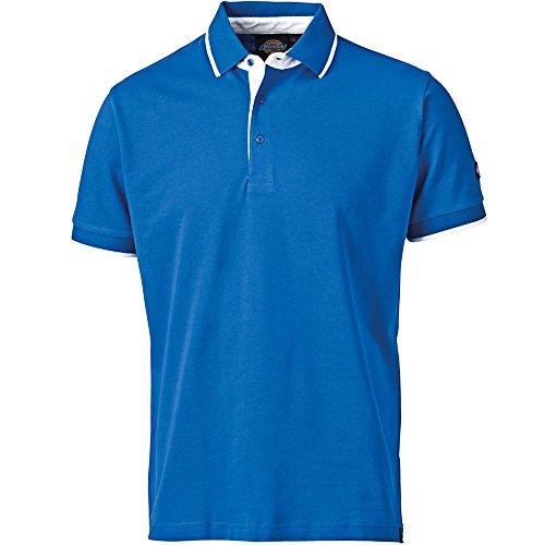 Dickies Anvil Polo Shirt schwarz BK-L, DT2000 Blau