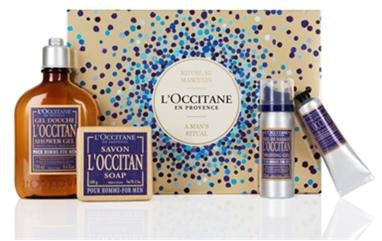 LOccitane Mens Ritual Father's Day Gift Collection