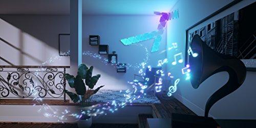 nanoleaf Light Panels (Aurora) Rhythm Musik & Sound Nachrüstmodul [Plug and Play | Faszinierende Effekte | Mikrofon & 3,5mm Klinkenanschluss] - 7