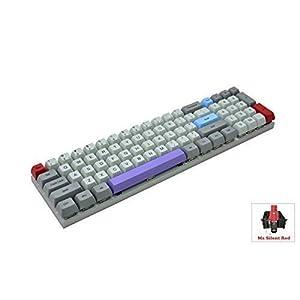Vortexgear Vibe Mechanische Gaming-Tastatur – graues CNC-Gehäuse – PBT SA Dye Sublimation Keycaps – Cherry Mx Schalter…
