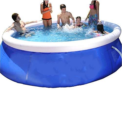 Schwimmbad Käfigverdickung Super Großes Planschbecken Aufblasbare Haushaltsbadewanne Blau B 360X90Cm