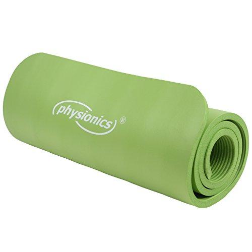 Physionics Yogamatte Fitnessmatte Bodenmatte  im Test