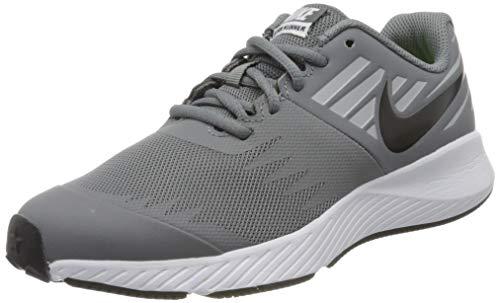 Nike Jungen Star Runner (GS) Traillaufschuhe, Mehrfarbig (Cool Grey/Black-Volt-Wolf Grey 006), 40 EU