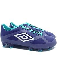 Umbro Velocita 2 Club HG Football, Stivali Uomo, Blue Bird/White/Pur, Size UK10