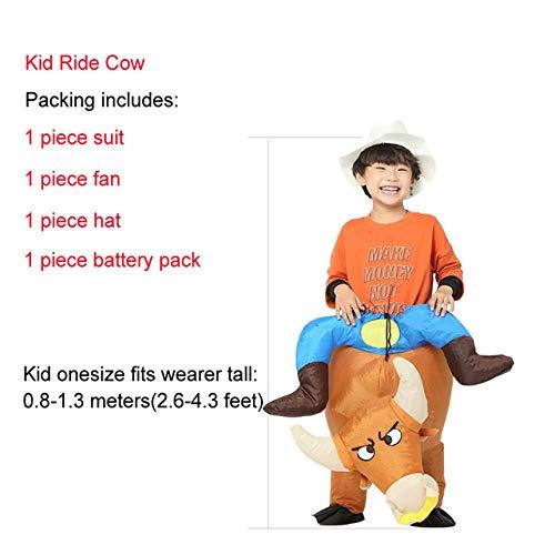 Purim Kostüm Kinder - GAOGUAIG AA Aufblasbare Dinosaurier Kostüm Halloween Kostüme for Kinder Erwachsene Cosplay Party Kostüm Purim Karneval Kostüm SD (Color : Onecolor, Size : Onesize)