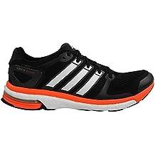 buy popular 9f87e 0580b Adidas Adistar Boost para hombre de los zapatos corrientes de Esm 8  Negro-blanco-