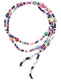 Kesheng Cadena Para Gafas de Sol de Abalorios Multicolores Longitud 76cm Para  Mujeres ede1ffb7674