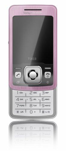 SonyEricsson T303 rosa Handy