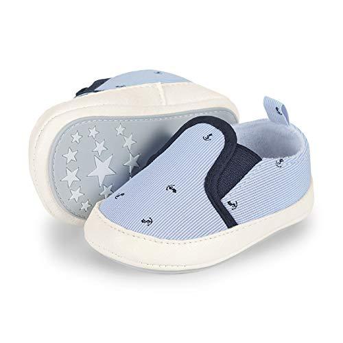 Sterntaler Jungen Baby-Schuh Slipper, Blau (Himmel 2301926), 16 EU