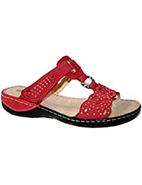 f8c4e98eb9e Cushion Walk Ladies summer sandal Comfortable fitting with touch close  straps.