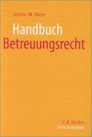 Cover »Handbuch Betreuungsrecht«