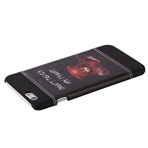 TPU Silikon Schutzhülle Handyhülle Painted pc case cover hülle Handy-Fall-Haut Shell Abdeckungen für Smartphone Apple iPhone 6 6S (4.7 Zoll)+Staubstecker (7AC) 7