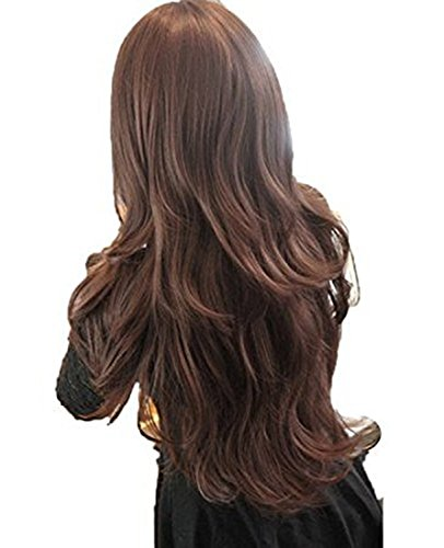 Simplefirst Womens Girls Fashion Perücke Welle Curly langes -