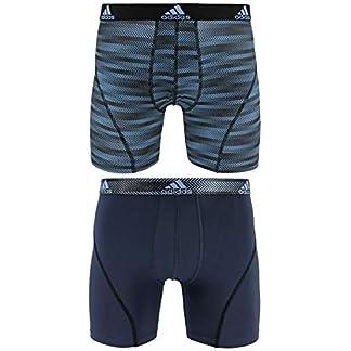 adidas–Camiseta de Deporte Performance Climalite Boxer Breve Ropa Interior (2Unidades)