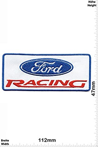 Patches - Ford Racing- Cars - Motorsport - Racing Car Team - Iron on Patch - Applique embroidery Écusson brodé Costume Cadeau- Give