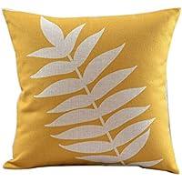 LeiQuanQuan Cojines de sofá de Estilo nórdico de Estilo Minimalista Almohadas Simples de algodón y Lino