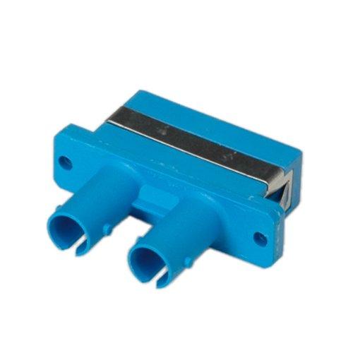 Rotronic ROLINE 21170121 LWL-Adapter Stecker zu SC Duplex, Single-Mode, Z blau (Ferrule Kabel-gehäuse)