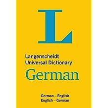 Langenscheidt Universal Dictionary German: Deutsch-Englisch/Englisch-Deutsch (Langenscheidt Universal Dictionaries)