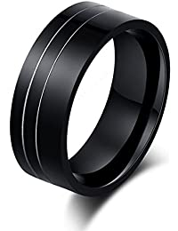 Ruvee Artistic Explosion Of The Future Titanium Ring For Men & Women