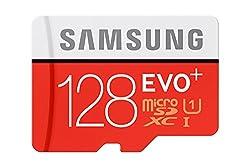 Samsung Evo+ 128GB Class 10 micro SDXC Card (With adapter)