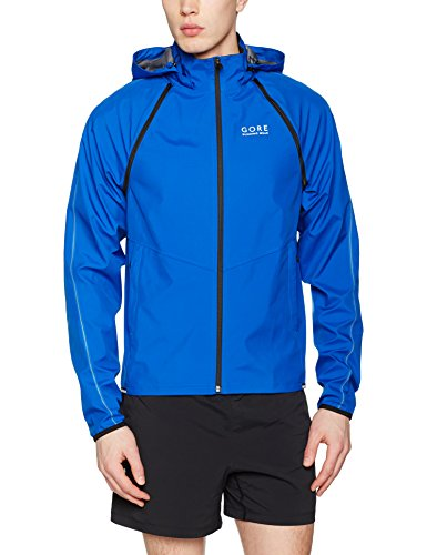 GORE WEAR Herren Essential Windstopper Zip-Off Jacke, Brilliant Blau, XL - Kapuzen Zip-weste