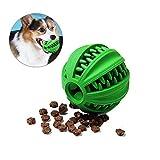 Umiwe Giochi da masticare per cane giocare a palla Cane Trattare palla dell'alimentatore dello spuntino distributore di cibo tenere occupato il cane cure odontoiatriche salute dei denti (8cm)