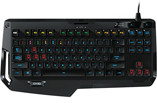 Logitech G410 Atlas Spectrum Gaming Tastatur (920-007749) Logitech G410 Gaming Keyboard Schweiz-Deutsch Layout QWERTZ
