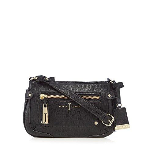 j-by-jasper-conran-black-zip-detail-cross-body-bag