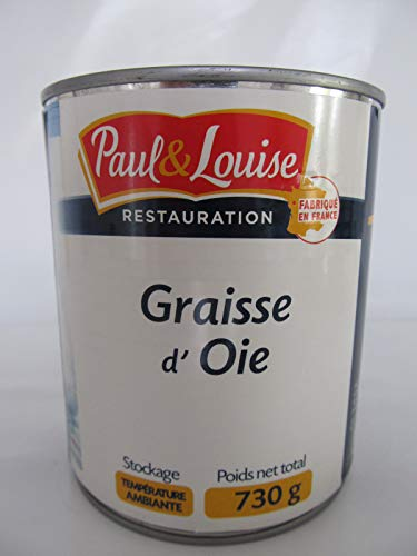 Paul & Louise, Gänsefett Gänseschmalz aus Frankreich, 730 g