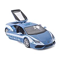 Serie di auto: auto sportivaNome del modello: Lamborghini LP610-4Tipo di giocattolo: giocattolo di metalloTipo di modello: prodotto finitoNome del modello: Lamborghini Huracan LP610 Auto della poliziaClassificazione di colore: verde, rossoEtà applica...