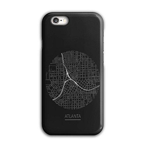 Atlanta Stadt Karte Mode Stadt Karte iPhone 6 / 6S Hülle | (Atlanta Kostüme)