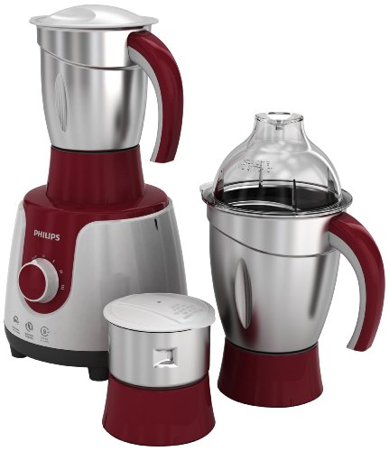 Philips HL7720 750 W Mixer Grinder (Multicolor, 3 Jars)