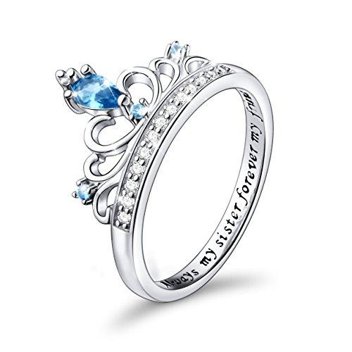 Silver Mountain  -  925-Sterling Sterling-Silber Blue Zirkonia