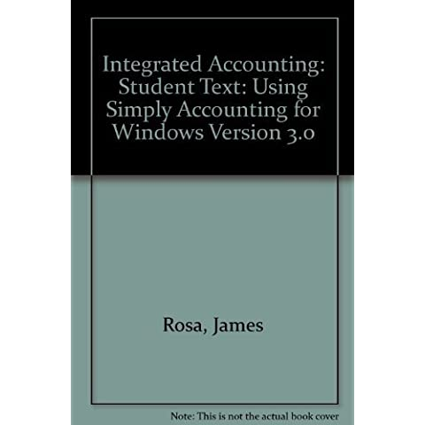 Simply Accounting by Rosa, James (1998) Paperback