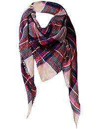 Malloom® Foulards, Echarpe en coton à manches longues en coton à manches  longues 316f0eeb310