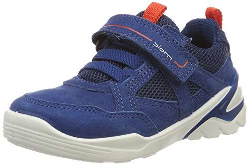 ECCO Jungen Biom VOJAGE Sneaker, Blau (Poseidon/Fire 51290), 34 EU -