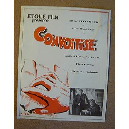 Dossier de presse de Convoitise (1929) - Die von der Scholle sind – Film de Alexandre Lang avec Albert Steinruch, Elsa Wagner – Photos N&B + résumé du scénario – bon état.