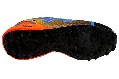 gibra , Chaussures de course pour homme royalblau/neonorange