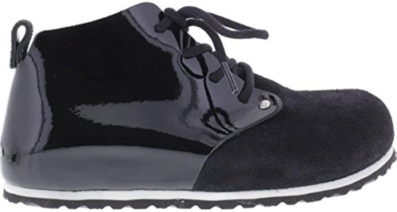 Birkenstock Shoes Dundee Black Patent Naturleder Veloursleder Größe 40 EU