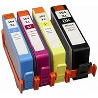 Prestige Cartridge 4 x HP364XL-Cartuccia di inchiostro, colore: