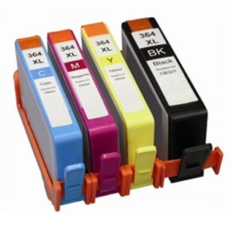 Prestige cartridge 4 x hp364xl-cartuccia di inchiostro, colore: nero/ciano/magenta/giallo