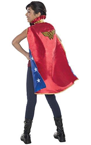 Rubie's offizieller Dc-Wonder-Woman-Umhang für Kinder, (Shirt Wonder T Kostüme Woman)
