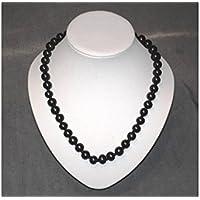 Schungit Halskette, mit 9mm. Perlen, poliert, 55cm lang, 100g, mit ZERTIFIKAT! preisvergleich bei billige-tabletten.eu