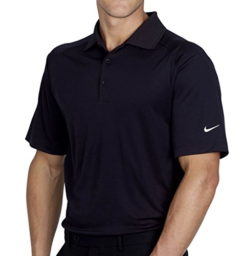 Nike Herren DryFit Polo schwarz / weiß