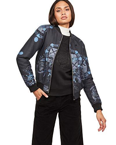 G-STAR RAW Damen Jacke Deline Slim Bomber, Mehrfarbig (Sartho Mazarine Blue AO 7181), (Herstellergröße:XS)