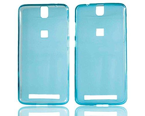 caseroxx TPU-Hülle für Elephone P8000, Tasche (TPU-Hülle in blau)