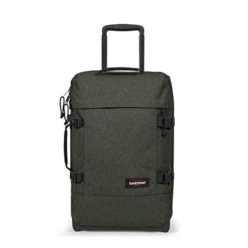 EASTPAK TRANVERZ S EK61F 97Q TROLLEY PICCOLO CABINA (OK PER LOW COST RYAN AIR) VERDE CRAFTY KHAKY
