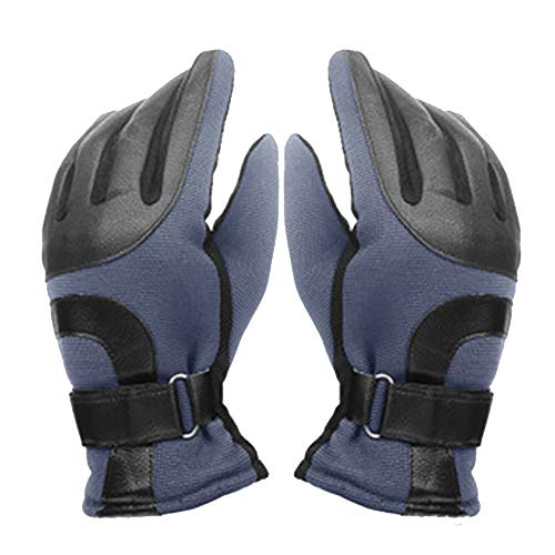 b9ead4669e8725 YOYGADING Handschuhe Männer Winterhandschuhe Stilvoll Warm zum Radfahren  Skifahren Motorrad Handschuhe,Grau, 25cm