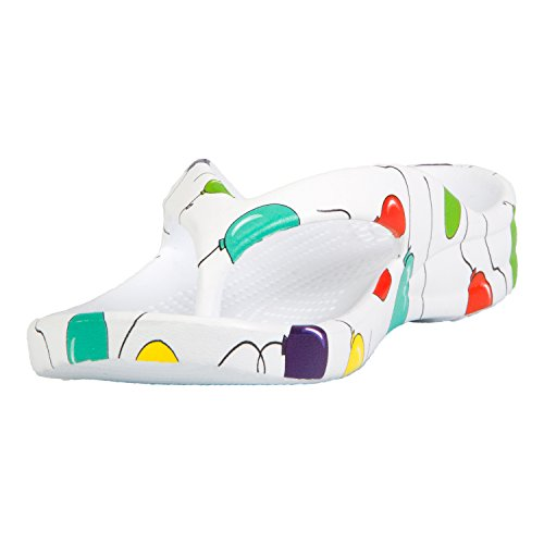 Dawgs Toddlers Flip Flops Balloons