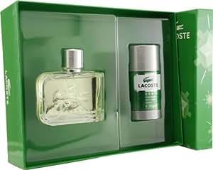 Lacoste Essential pour Les Homme Coffret - 126 ml Eau de Toilette Vaporisateur + 75 ml Deodorant Stick
